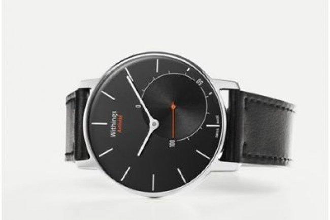 Le boîtier et le mécanisme de la montre connectée de Withings sont fabriqués en Suisse. (crédit : Withings)