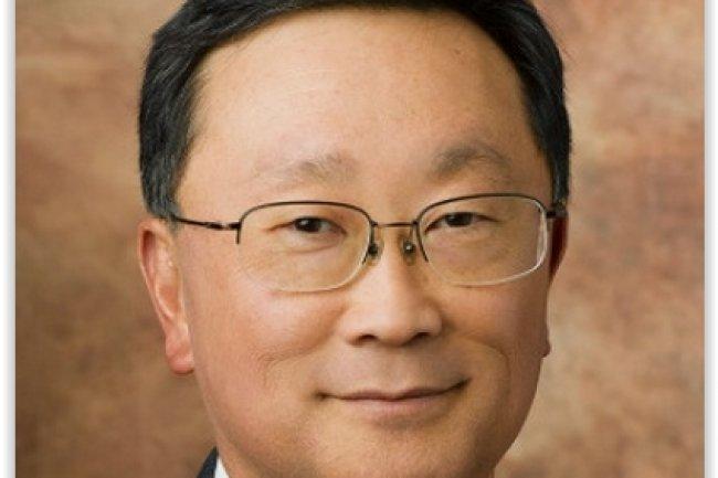 John Chen cherche à montrer que Blackberry devance toujours la concurrence en matière de sécurisation des terminaux et des données mobiles. (crédit : D.R.)