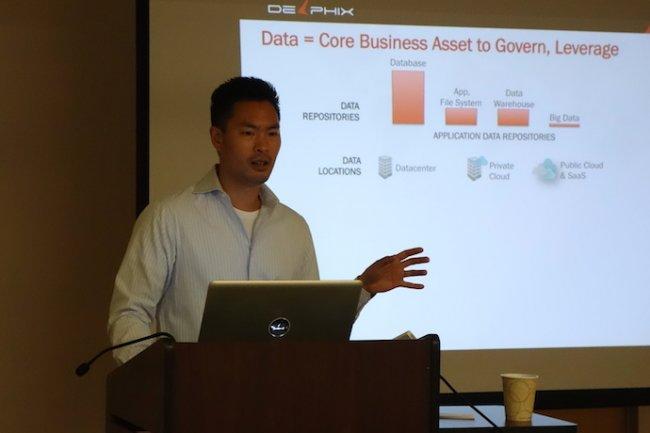 « Nous sommes toujours une compagnie logicielle proposant des solutions pour synchroniser des données via un réseau, partout ou le besoin se fait ressentir », nous a indiqué Jed Yueh, CEO de Delphix.