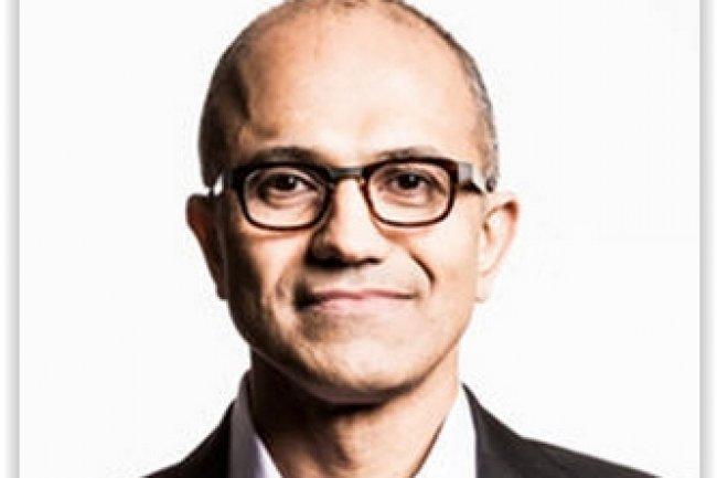 Satya Nadella ne perd pas de vue que la mutation de Microsoft passe par sa réussite à impliquer les salariés de l'entreprise dans sa nouvelle stratégie. (crédit : D.R.)