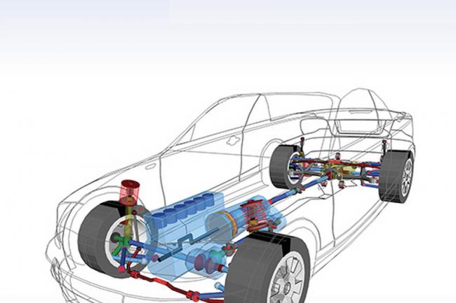 Les solutions de Simpack sont utilisés par les principaux constructeurs automobiles pour développer leurs nouveaux modèles. (crédit : D.R.)