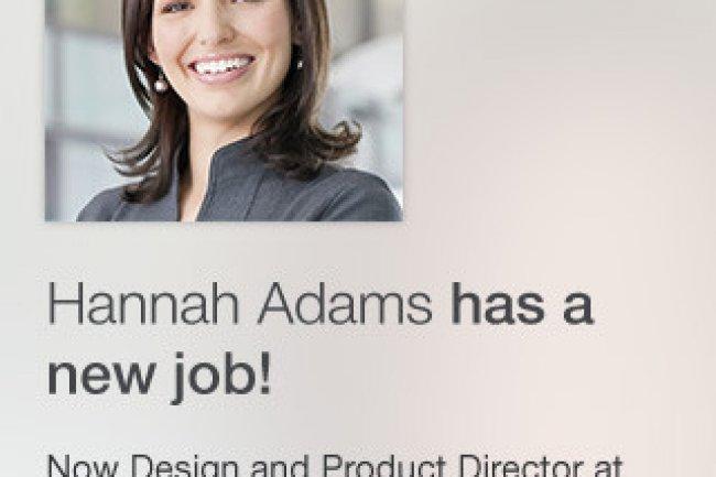 La dernière app de Linkedin permet aux utilisateurs de voir les dernières mises à jour de profils sur leur mobile.