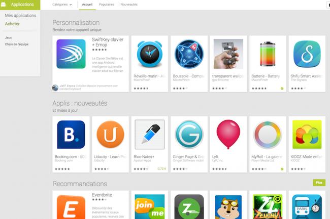 Les apps disponibles sur la plate-forme Google Play sont beaucoup trop intrusives selon Zscaler qui tire la sonnette d'alarme.