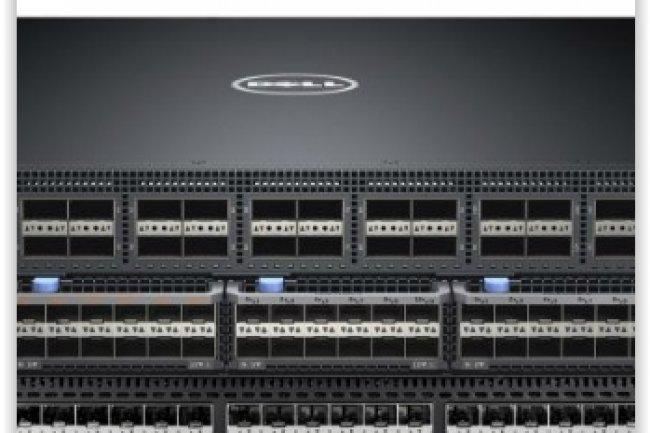 Les baies Fibre Channel sont connectées directement aux commutateurs Dell qui virtualisent ce protocole au sein de la liaison unifiée dans une logique de SDN. (crédit : D.R.)