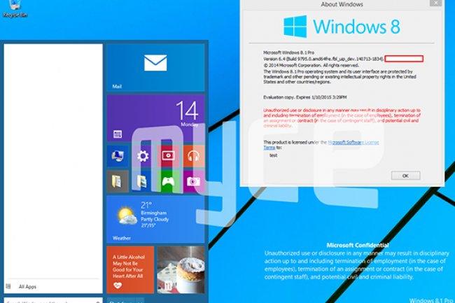 Aveu d'échec cinglant pour Microsoft, le menu Démarrer fait son vrai retour dans Windows 9. (crédit D.R.)