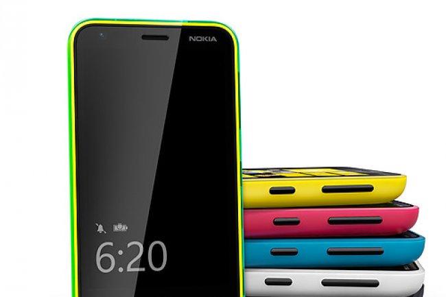 Les smartphones Nokia sont venus renforcer le chiffre d'affaires de Microsoft.