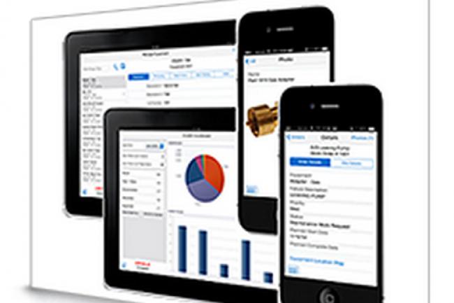 Les applications mobiles d'Oracle semblent capables d'une certaine complexité.