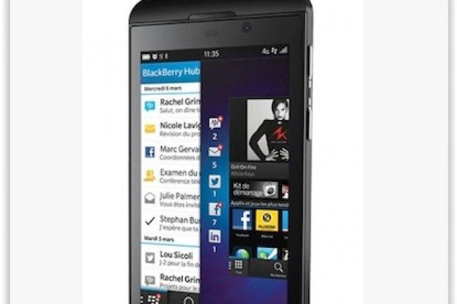 La Security Card de Secusmart est directement intégrée dans la micro-carte SD des Blackberry 10. (crédit : D.R.)