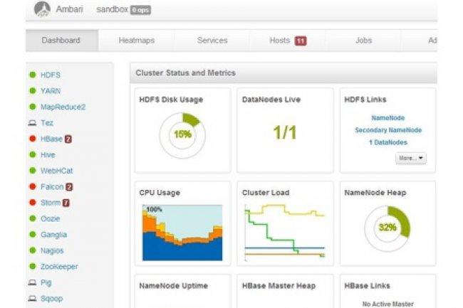 Hortonworks s'allie à Pivotal pour simplifier la gestion des clusters Hadoop.