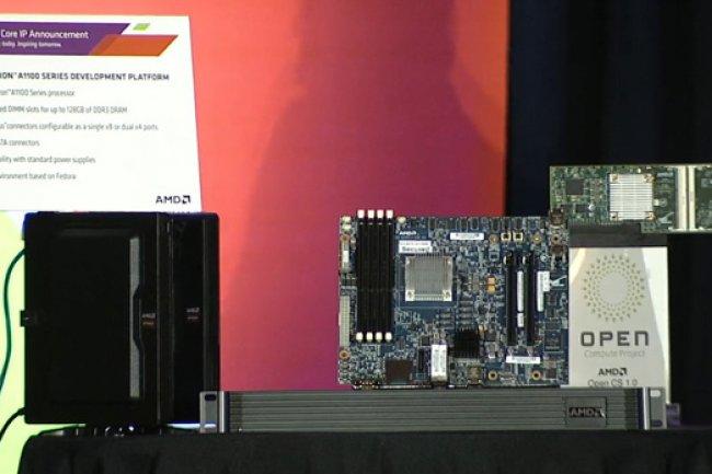 La carte mère d'AMD est livrée avec un pack logiciels, notamment la pile LAMP. (crédit : D.R.)