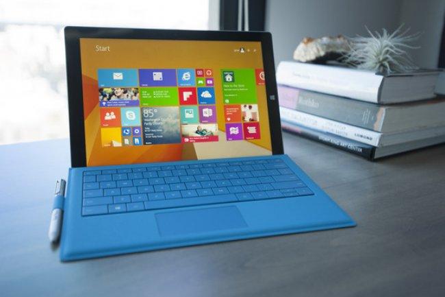 La Surface Pro 3 n'est pas aussi lumineuse que certains écrans concurrents.