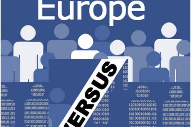 Le plaignant Europe-v-Facebook réclame 5,75 millions d'euros d'indemnités au réseau social, soit 500 euros pour chaque participant à l'action collective. (crédit image : Europe-v-Facebook)