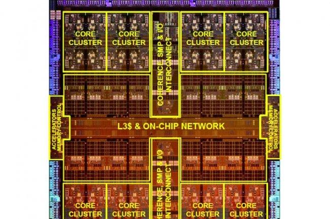 Le Sparc M7 supportera jusqu'à 32 sockets, comme la M6. Elle sera notamment utilisée dans les series T et M d'Oracle. (crédit : D.R.)