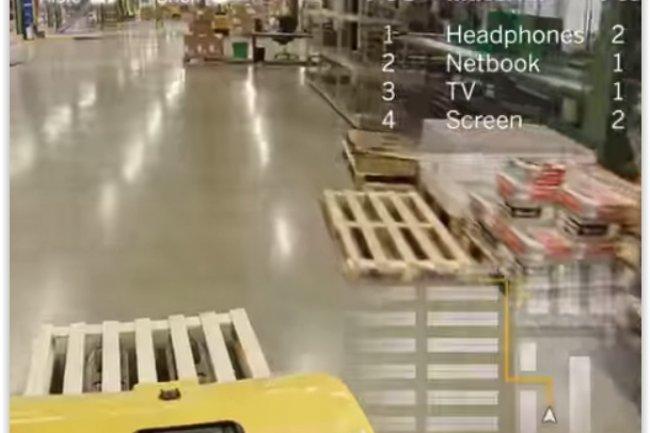 SAP n'a pas encore précisé le prix de ses apps de réalité augmentée pour Google Glass. (crédit : D.R.)