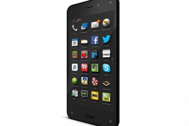 Le Fire Phone d'Amazon est accessible pour 0,99 dollar moyennant un abonnement de deux ans. Cr�dit: D.R
