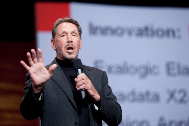 Larry Ellisson devient pr�sident du conseil d�administration d'Oracle et supervisera les produits technologiques. (Cr�dit: IDGNS)