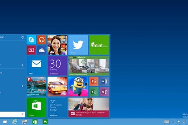 Le menu Démarrer fait sa véritable réapparition dans Windows 10. (crédit : D.R)
