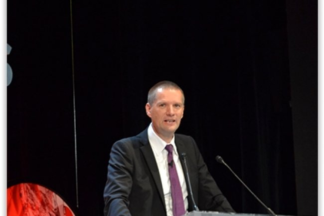 Guillaume Poupard, qui a pris la succession de Patrick Pailloux au poste de président de l'ANSSI, a annoncé les futurs grands chantiers de l'organisme d'État lors des Assises de la Sécurité à Monaco. (crédit : LMI)