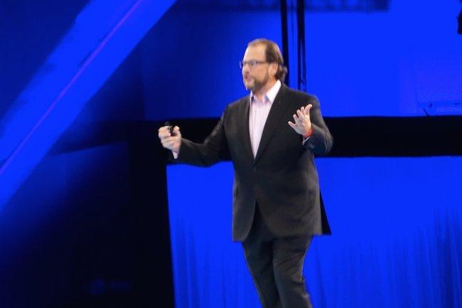 La keynote de Marc Benioff a été l'occasion de revenir sur les 2 dernières annonces de l'éditeur, cloud analytique et plate-forme de développement.