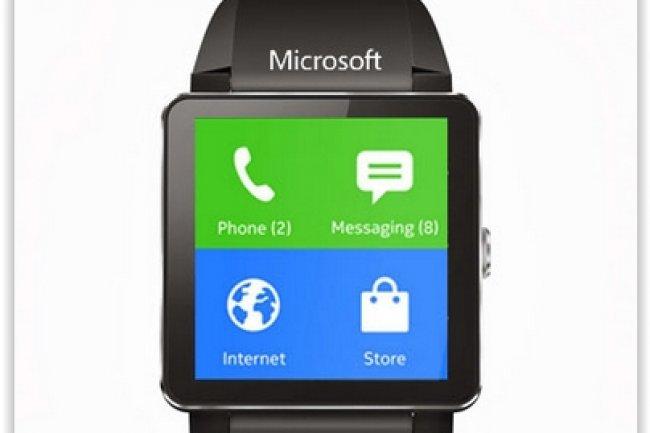 Microsoft n'a pas révélé le design de sa montre connectée, mais cela n'empêche pas le web de fourmiller de concepts plus ou moins réalistes. (crédit : D.R.)