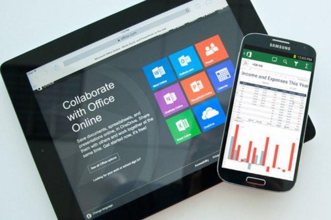 La suite bureautique de Microsoft, Office 16, devrait �tre d�clin�e en versions Android et tactile Cr�dit: D.R