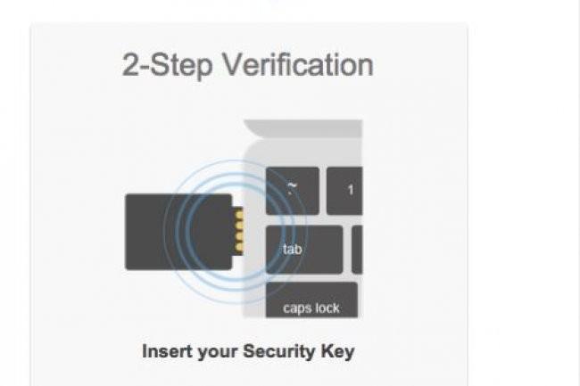 La Security Key permet de sécuriser un compte Google. Crédit : D.R