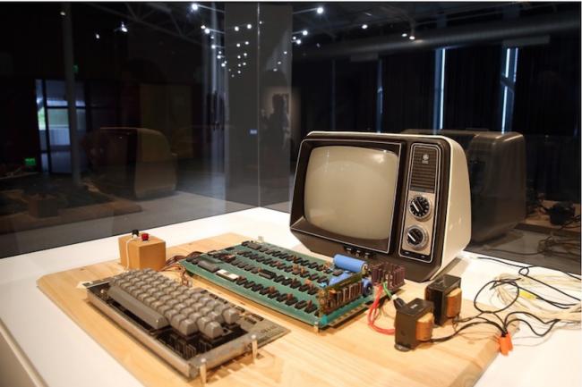 L'Apple-1 fera partie de la collection du Musée Henry Ford de Dearborn, dans le Michigan.  Crédit :D.R