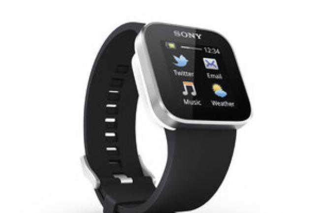 Selon GFK, les Allemands restent très réservés quant à la possibilité de régler des achats avec une montre connectée (crédit Sony).