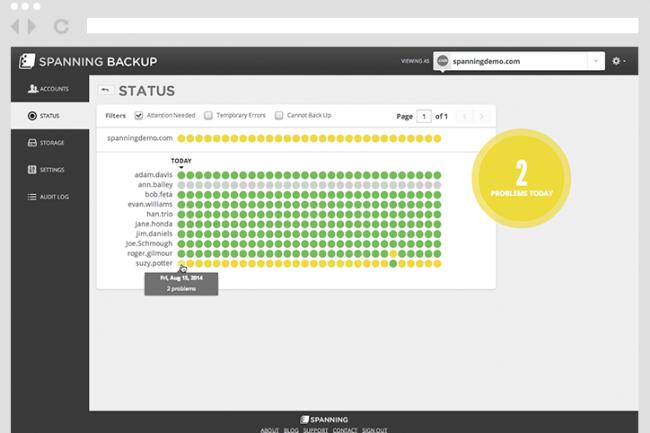 Avec Spanning, EMC espère étendre sa protection des données à toutes les applications et charges de travail.