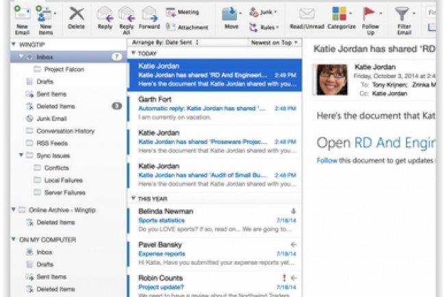 Microsoft n�a pas encore mis � jour Word, Excel et PowerPoint pour Mac.(cr�dit : D.R.)