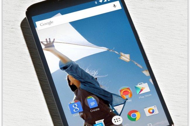 Le Nexus 6 est disponible dans le Play Store pour 649 euros. (crédit : D.R.)