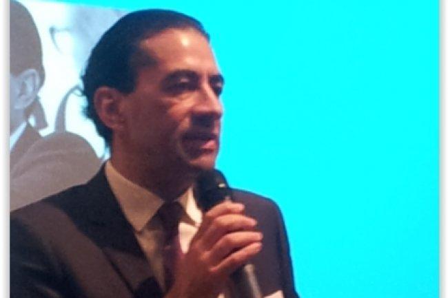 Gérald Karsenti, PDG de HP France, a donné le coup d'envoi à son programme de soutien aux start-ups. (crédit : LMI)