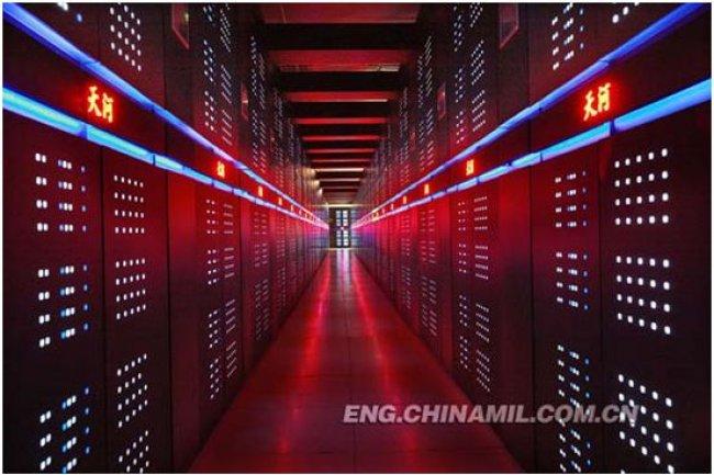Le supercalculateur chinois Tianhe-2 (ci-dessus) reste en tête du Top500 et un seul HPC nouveau, construit par Cray, fait son entrée dans les 10 premiers. (source photo : http://english.peopledaily.com.cn/)