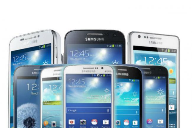 Samsung va réduire la largeur de ses gammes de smartphones.