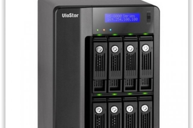 La solution NAS de la gamme Visostor de Qnap répond aux besoins de stockage entrée de gamme. (crédit : D.R.)