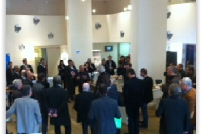 La 6e étape de l'IT Tour à Aix-en-Provence a réuni une soixantaine de participants, réunis pour une matinée-débats organisée au prestigieux Hôtel Renaissance. (crédit : LMI)