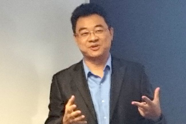 Michael Tso, CEO de la start-up Cloudian