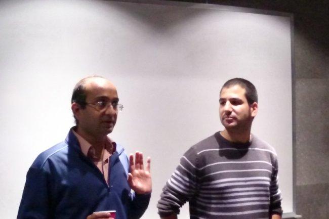 Qubole souligne que sa technologie exclusive offre une véritable mise à l'échelle auto-mise et l'optimisation du stockage (Shrikanth Shankar et Gil Allouche chez Qubole). Crédit : D.R.