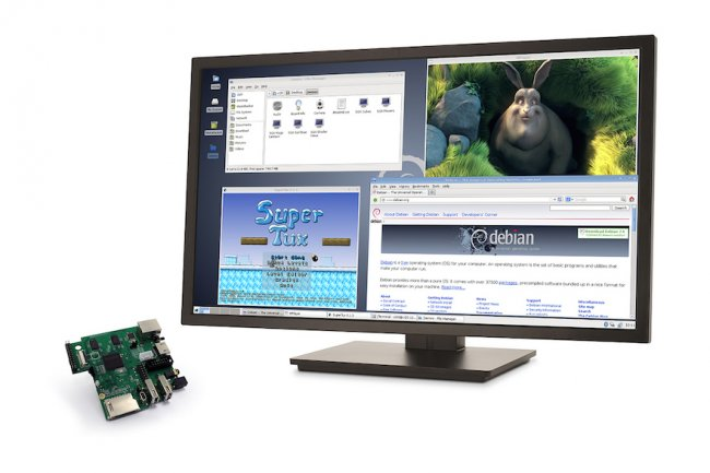 Sur base MIPS, la micro-carte CI20 intègre 1 Go de RAM et 4 Go de flash.