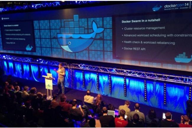 Docker a profité de sa conférence DockerCon Europe pour lancer trois nouveaux outils d'orchestration. (crédit D.R.)