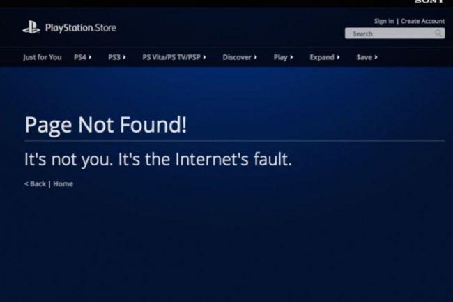Le Playstation Store de Sony a aussi été inaccessible pendant plusieurs heures. Crédit: D.R