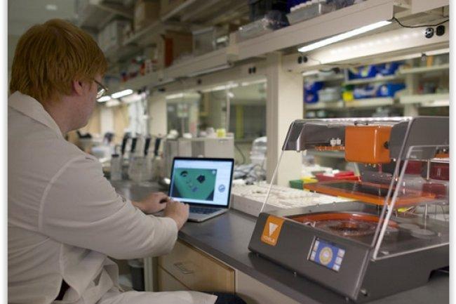 L'imprimante 3D de composants électroniques de Voxel 8 fonctionne sur la plateforme logicielle Wire d'Autodesk. (crédit : D.R.)