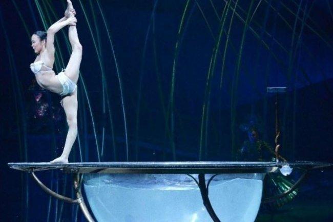 L'impression 3D permettra  au Cirque Du Soleil de fabriquer des costumes parfaitelet ajustés aux mensurations de ses artistes. Crédit: Cirque Du Soleil