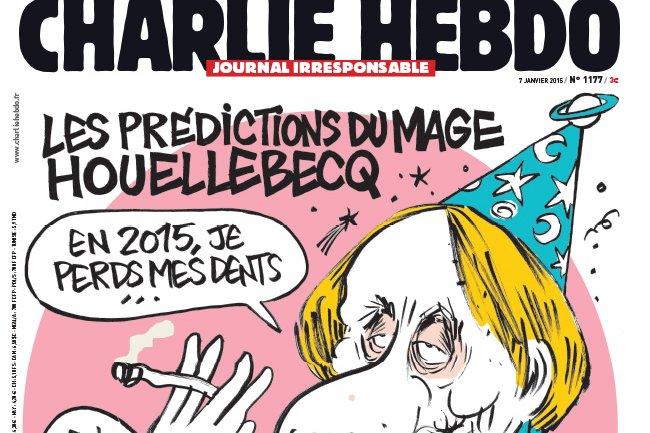 Le dernier numéro de Charlie Hebdo est en vente, nous vous invitons à soutenir le journal satirique. (crédit : D.R.)