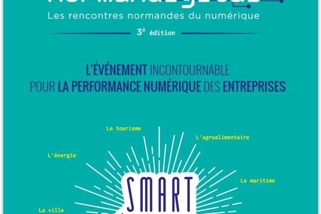 Normandigital se tiendra au Havre le 9 avril prochain. (crédit : D.R.)
