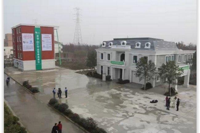 Les bâtiments imprimés en 3D de Wisun ont vocation à être implantés dans les zones sinistrées ou les pays en voie de développement. (crédit : D.R.)