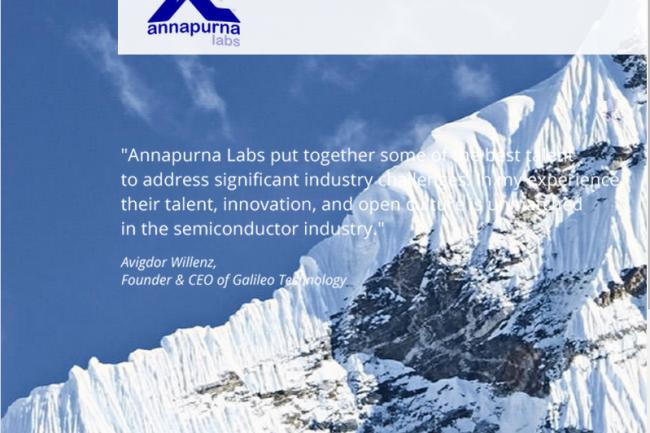 Annapurna Labs est toujours restée très discrète quant à ses développements.