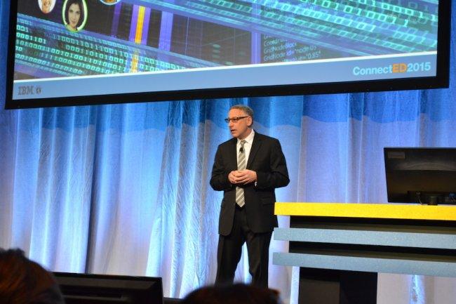 Pour Jeff Schick, directeur général de la branche Enterprise Social Solutions d'IBM, Verse est la passerelle vers un travail encore plus social et plus collaboratif. (crédit : O.B.)