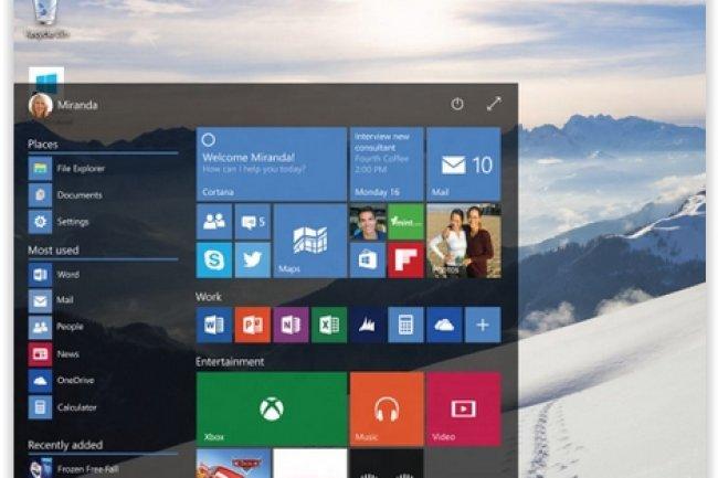 La dernière Build 9926 de Windows 10 a été lancée fin janvier. (crédit : D.R.)